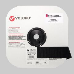"2"" - VELCRO® Brand Mil-Spec Hook - Black"