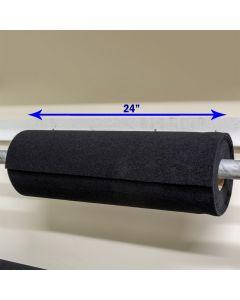 """24"""" - Velcro® brand Wide Loop - Black 188980"""