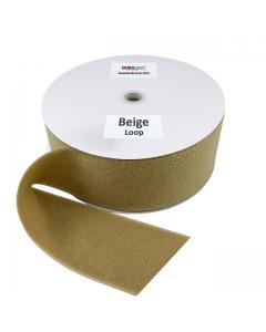 """4"""" - DuraGrip Brand Sew-On Loop - Beige DG40BGLS"""