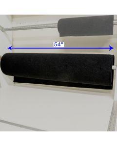 """54"""" - Velcro® brand Wide Loop - Black 196495"""