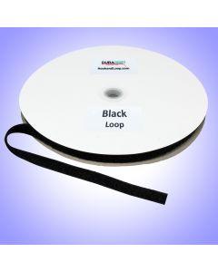 "5/8"" - DuraGrip Brand Sew-On Loop - Black DG58BLLS"
