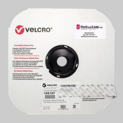 "1"" - Velcro® brand Pressure Sensitive Adhesive Hook: Rubber - White 185197"