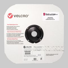 "1/2"" - Velcro® brand Pressure Sensitive Adhesive Hook: Rubber - White 185449"