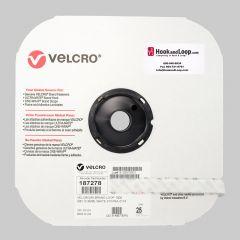 "5/8"" - Velcro® brand Pressure Sensitive Adhesive Loop: Rubber - White 187278"