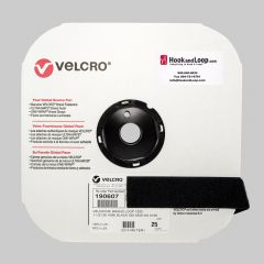 "1.5"" - Velcro® brand Sew-On Loop - Black 190607"