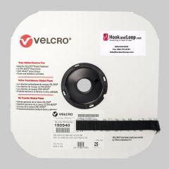 "3/4"" - Velcro® brand Pressure Sensitive Adhesive Hook: Acrylic - Black 190940"