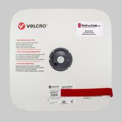 "1"" Red Velcro Velstretch Stretch Loop 197517"