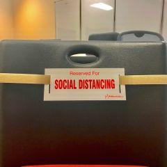 Social Distancing Strap-Beige