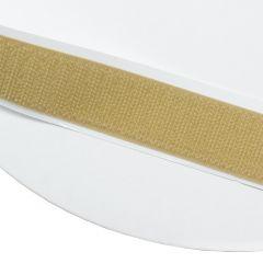 """4"""" - DuraGrip brand Peel & Stick Hook: Rubber - Beige DG40BGHR"""