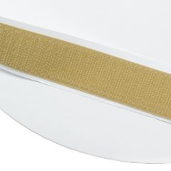 """5/8"""" - DuraGrip brand Peel & Stick Hook: Rubber - Beige DG58BGHR"""