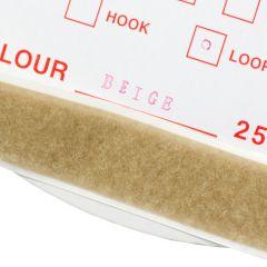 "1"" - DuraGrip brand Peel & Stick Loop: Rubber - Beige DG10BGLR"