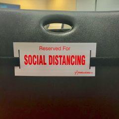 Social Distancing Strap-Black