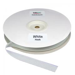 "Duragrip 1"" White Hook Acrylic"