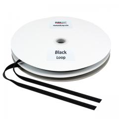 "1/2"" - DuraGrip Brand Sew-On Loop - Black DG12BLLS"