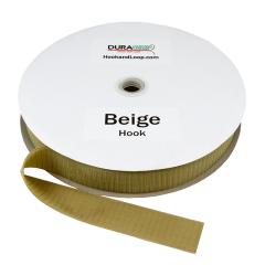 """1.5"""" - DuraGrip Brand Sew-On Hook - Beige DG15BGHS"""
