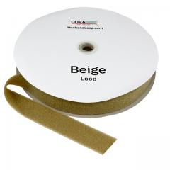 """1.5"""" - DuraGrip Brand Sew-On Loop - Beige DG15BGLS"""