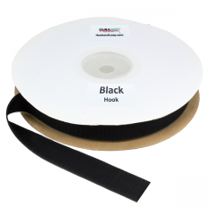 "Duragrip 1.5"" Black Hook Acrylic"