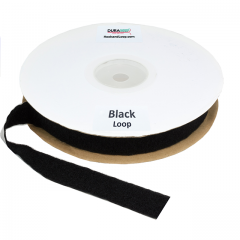 "1.5"" - DuraGrip brand Peel & Stick Loop: Rubber - Black DG15BLLR"