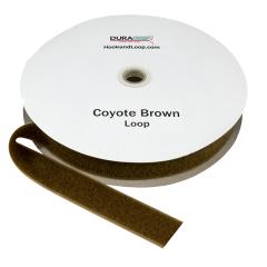 """1.5"""" - DuraGrip Brand Sew-On Loop - Coyote Brown DG15CBLS"""