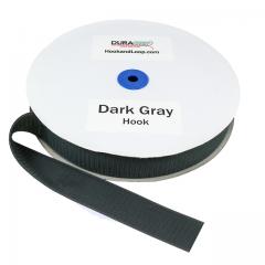 "1.5"" - DuraGrip Brand Sew-On Hook - Dark Gray DG15DGHS"