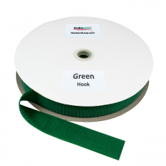 "1.5"" - DuraGrip Brand Sew-On Hook - Kelly Green DG15GRHS"