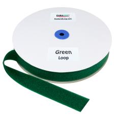 """1.5"""" - DuraGrip Brand Sew-On Loop - Kelly Green DG15GRLS"""