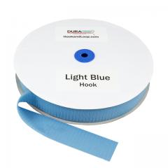 "1.5"" - DuraGrip Brand Sew-On Hook - Light Blue DG15LBHS"