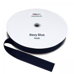 "1.5"" - DuraGrip Brand Sew-On Hook - Navy Blue DG15NBHS"