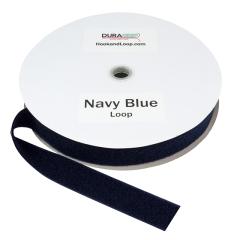 """1.5"""" - DuraGrip Brand Sew-On Loop - Navy Blue DG15NBLS"""