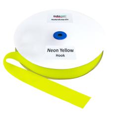 "1.5"" - DuraGrip Brand Sew-On Hook - Neon Yellow DG15NYHS"