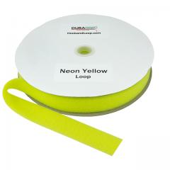 "1.5"" - DuraGrip Brand Sew-On Loop - Neon Yellow DG15NYLS"