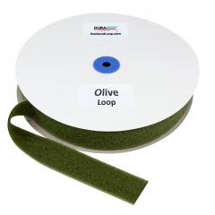 """1.5"""" - DuraGrip Brand Sew-On Loop - Olive Drab DG15ODLS"""