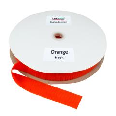 """1.5"""" - DuraGrip Brand Sew-On Hook - Orange DG15ORHS"""