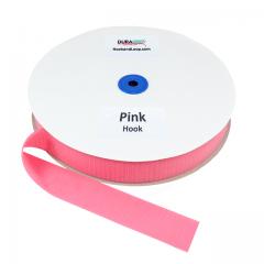 "1.5"" - DuraGrip Brand Sew-On Hook - Pink DG15PKHS"