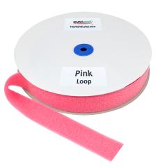 """1.5"""" - DuraGrip Brand Sew-On Loop - Pink DG15PKLS"""