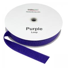"1.5"" - DuraGrip brand Sew-On Loop - Purple DG15PULS"