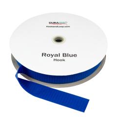 """1.5"""" - DuraGrip brand Sew-On Hook - Royal Blue DG15RBHS"""