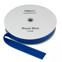 """1.5"""" - DuraGrip brand Sew-On Loop - Royal Blue DG15RBLS"""
