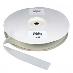 "Duragrip 1.5"" White Hook Acrylic"