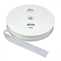 "1.5"" - DuraGrip brand Sew-On Hook - White DG15WHHS"