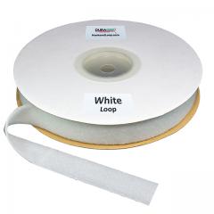 "Duragrip 1.5"" White Loop Acrylic"