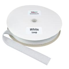 """1.5"""" - DuraGrip brand Sew-On Loop - White DG15WHLS"""