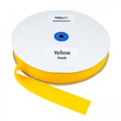 "1.5"" - DuraGrip brand Sew-On Hook - Yellow DG15YWHS"