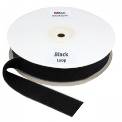 "Duragrip 2"" Black Loop Acrylic"