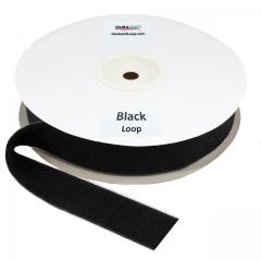 "2"" - DuraGrip brand Peel & Stick Loop: Rubber - Black DG20BLLR"