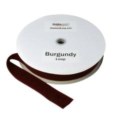 """2"""" - DuraGrip Brand Sew-On Loop - Burgundy DG20BULS"""