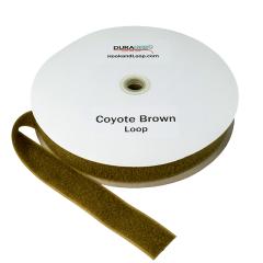 """2"""" - DuraGrip Brand Sew-On Loop - Coyote Brown DG20CBLS"""