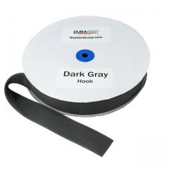 "2"" - DuraGrip Brand Sew-On Hook - Dark Gray DG20DGHS"