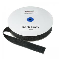 "2"" - DuraGrip Brand Sew-On Loop - Dark Gray DG20DGLS"