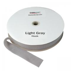 "2"" - DuraGrip Brand Sew-On Hook - Light Gray DG20LGHS"